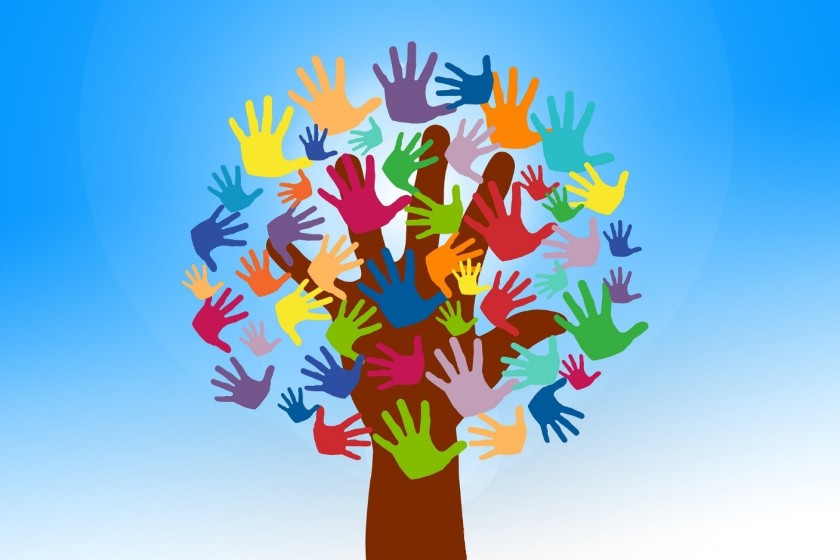Giving hands tree_image for piece
